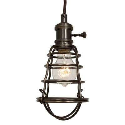 Home Decorators Collection – Bronze – Cage – Pendant Lights Intended For Most Current Bronze Cage Pendant Lights (#9 of 15)