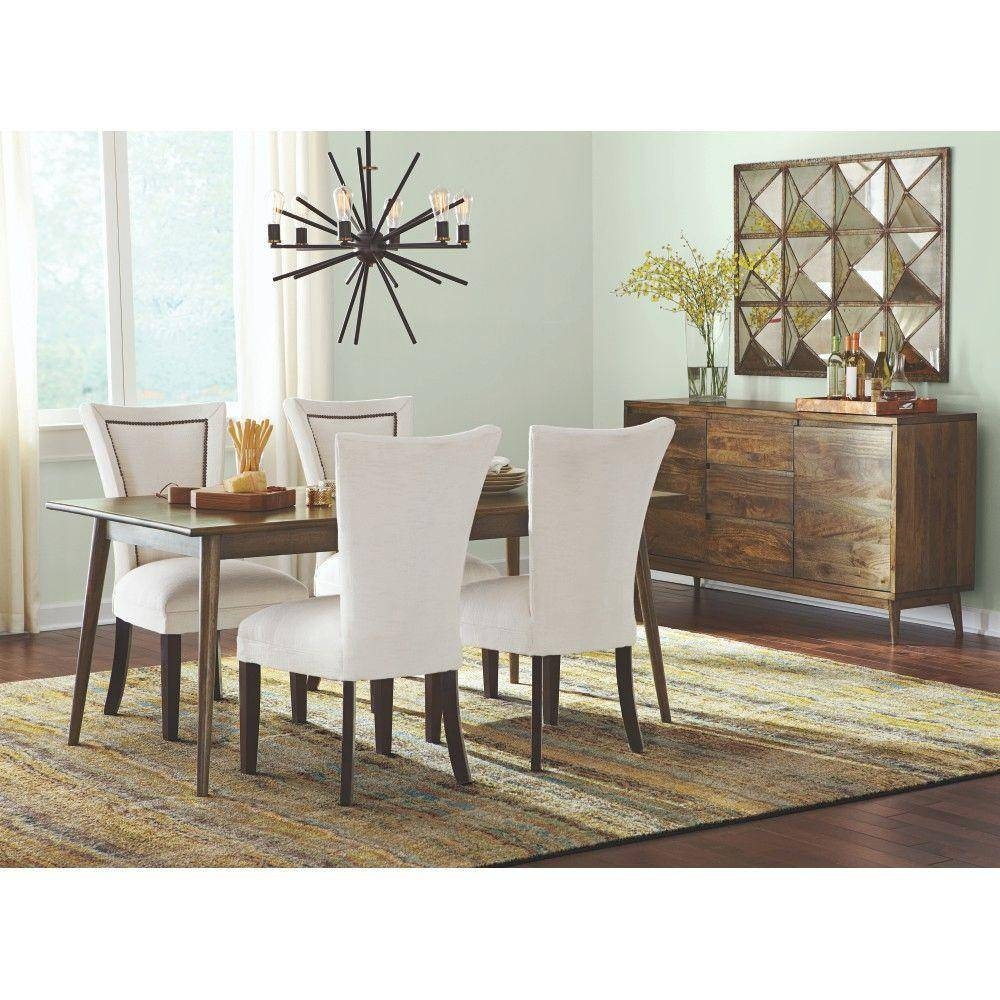 Home Decorators Collection Conrad Antique Natural Dining Table With Regard To Most Up To Date Dining Tables And Sideboards (#8 of 15)
