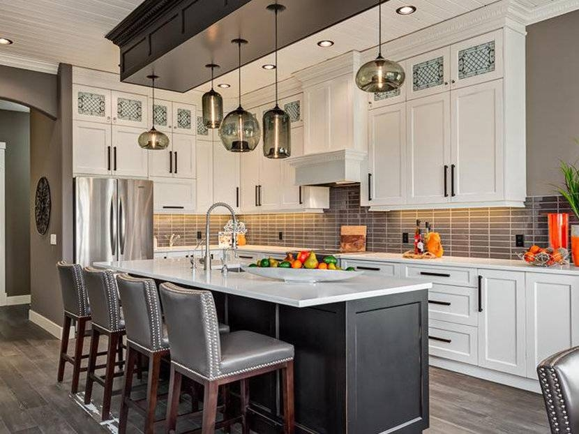 How Many Pendant Lights Should Be Used Over A Kitchen Island Intended For 2017 Pendant Lighting Over Island (#7 of 15)