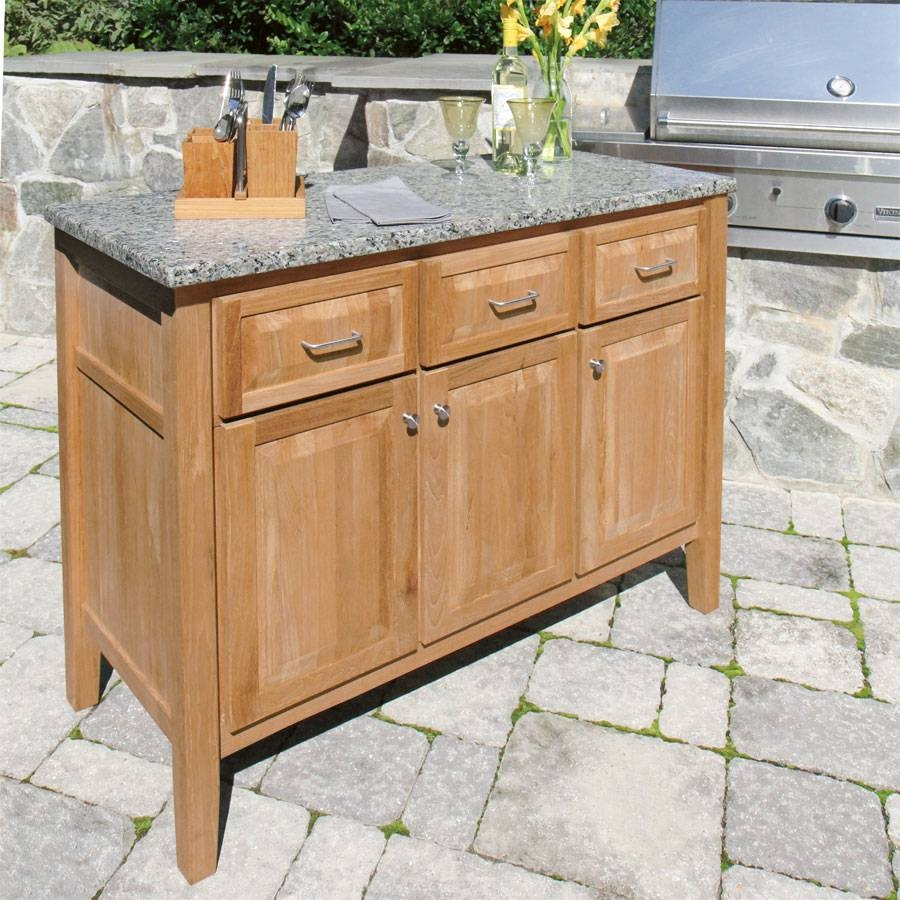 How To Choose An Outdoor Buffet Cabinet Pertaining To Most Popular Outdoor Sideboard Cabinets (#5 of 15)