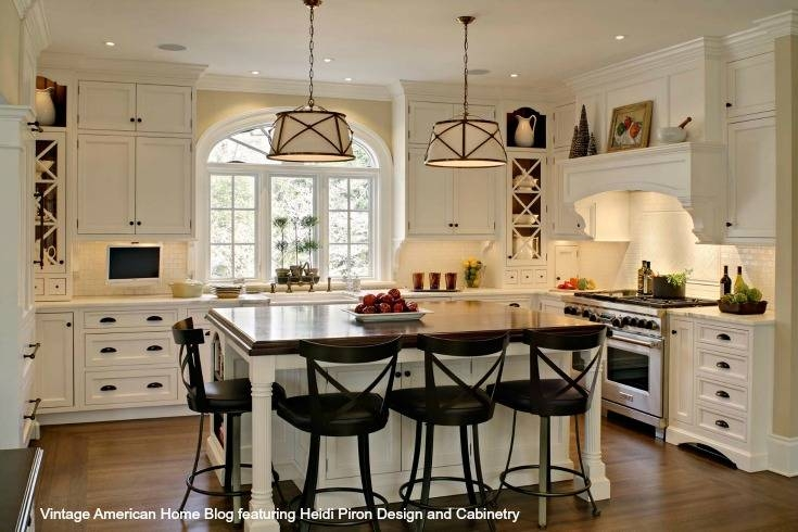 How To Update Your Kitchen To Farmhouse Style  New Or Existing For Most Recent Farmhouse Style Pendant Lighting (#4 of 15)