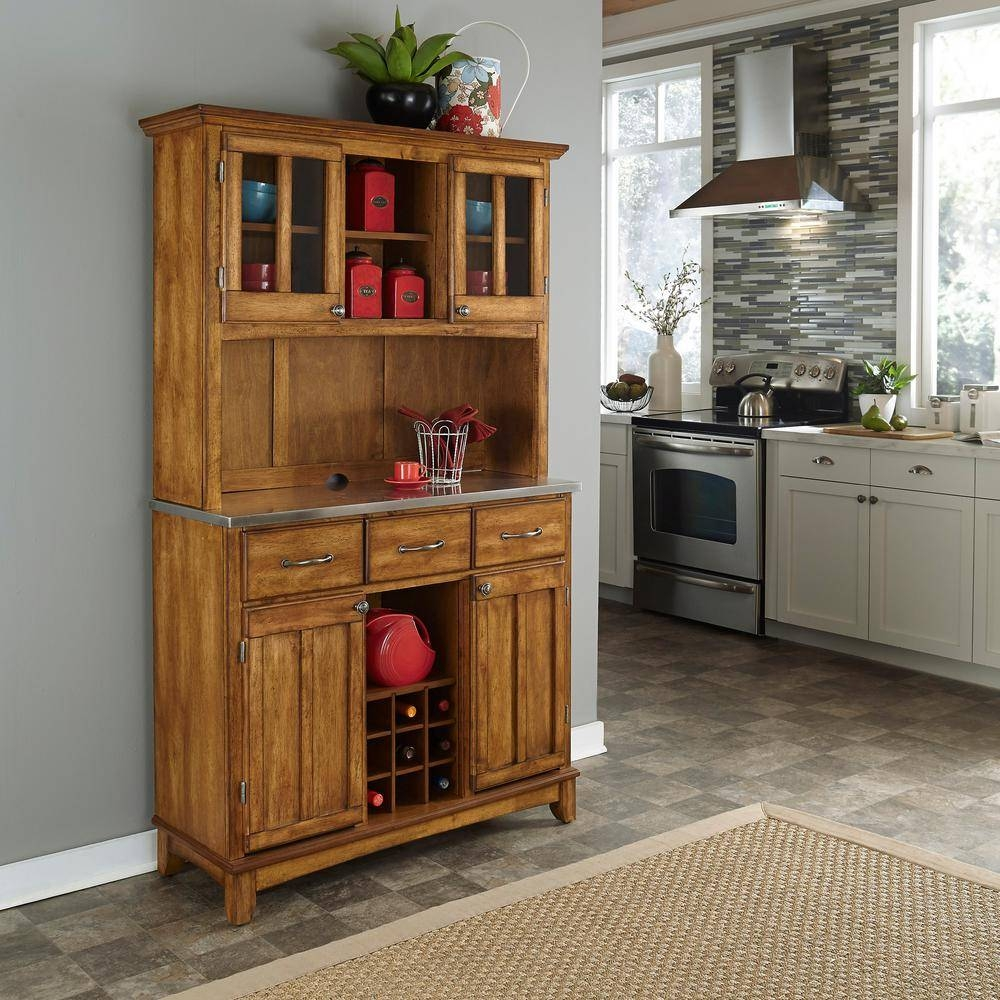 Ideal For Placing Your Microwave Hutch — Rocket Uncle Rocket Uncle For Newest Sideboards With Hutch (#10 of 15)