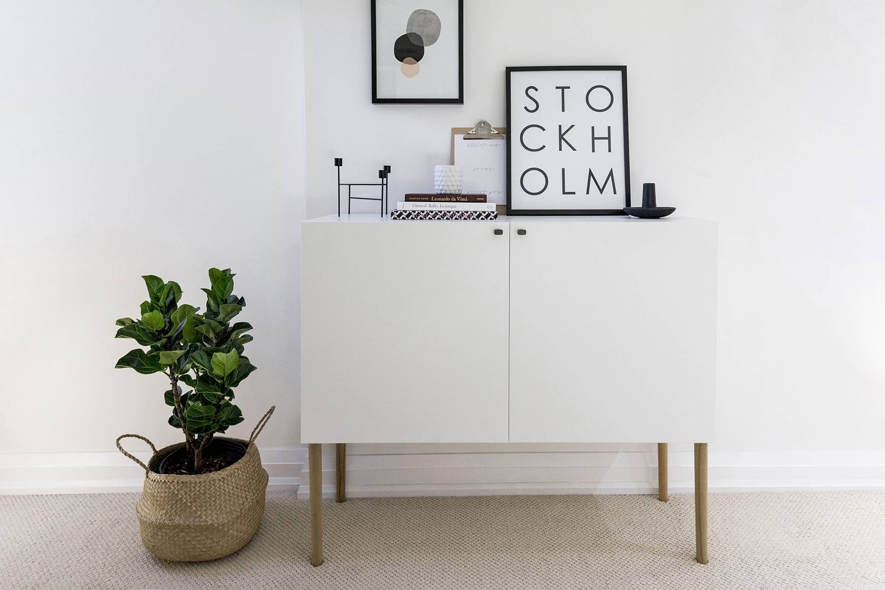Ikea Besta Hack: Scandinavian Sideboard Cabinet | Happy Grey Lucky With Regard To Most Current Ikea Besta Sideboards (#8 of 15)