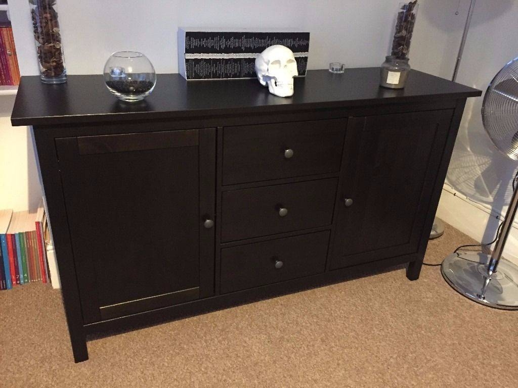 Inspiration about Ikea Hemnes Sideboard Black/brown | In Woodford, London | Gumtree Pertaining To 2017 Hemnes Sideboards (#10 of 15)