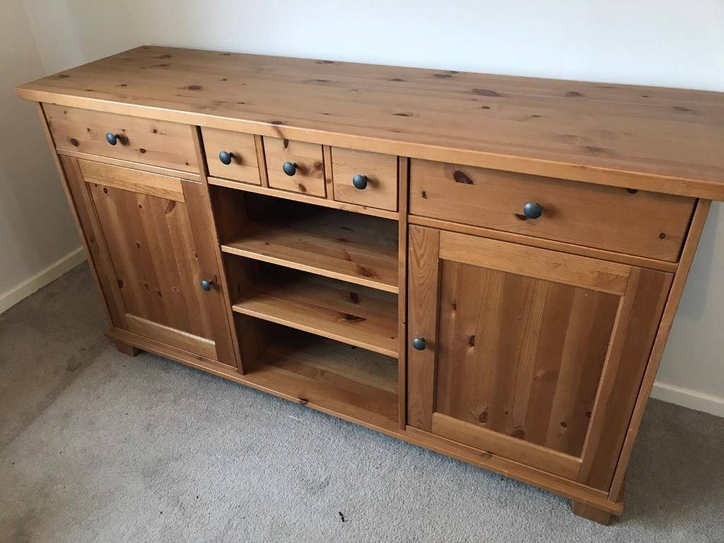Inspiration about Ikea Hemnes Sideboard Draws Cupboard Pine Solid Wood | In Burbage For Best And Newest Ikea Hemnes Sideboards (#3 of 15)