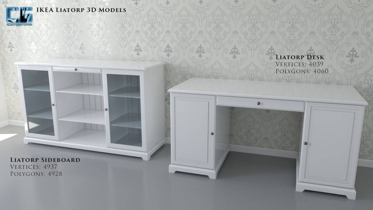 Inspiration about Ikea Liatorp Sideboard Desk Regarding Recent Liatorp Sideboards (#8 of 15)