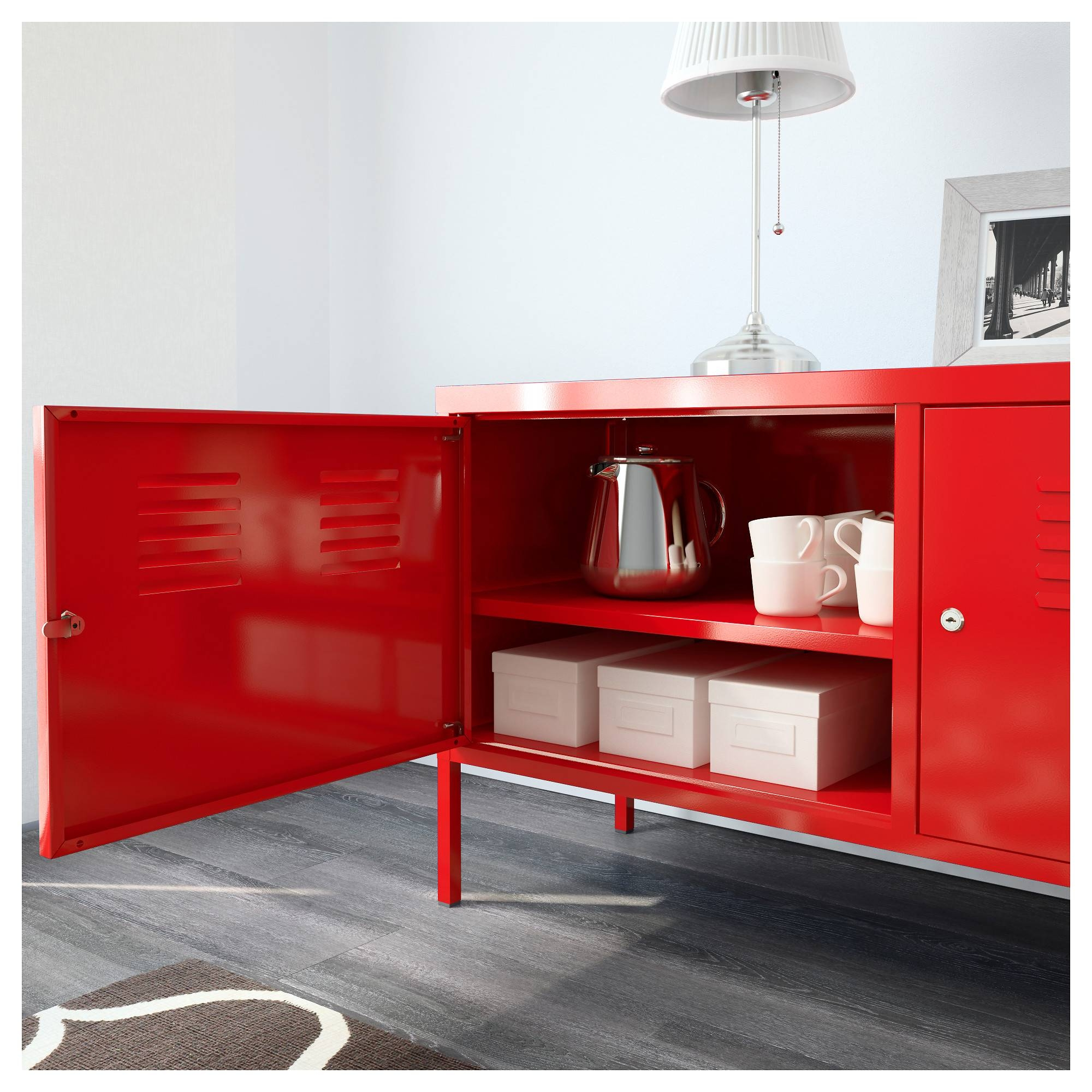Ikea Ps Cabinet – Red – Ikea Regarding Latest Ikea Red Sideboards (#9 of 15)