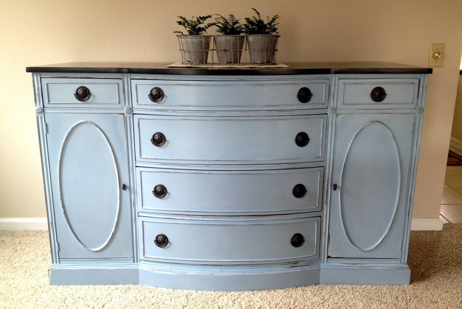 I'm A Yarner: Annie Sloan Chalk Paint Inside Current Annie Sloan Painted Sideboards (#7 of 15)
