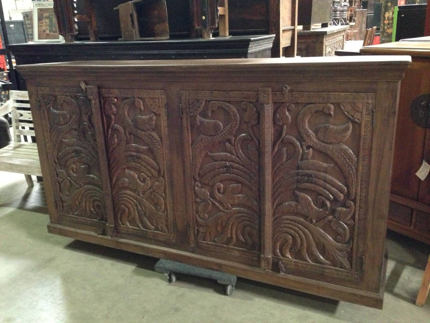 Imported Rustic Sideboards From India, China, Indonesia And Mexico Throughout 2018 Indian Sideboard Furniture (#8 of 15)