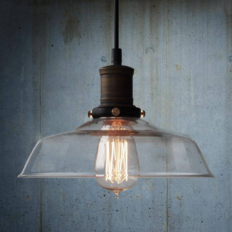 Inspiration About Industria Lighting U2013 Home Design U2013 Mannahatta Inside  Latest Industrial Glass Pendant Lights (