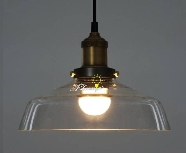 Industrial Glass Pendant Lighting – Hbwonong In Newest Industrial Glass Pendant Lights (#6 of 15)