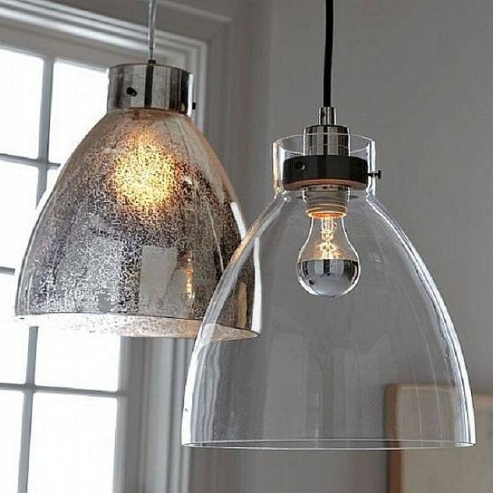 Industrial Glass Pendant Lights With Minimalist Design, Pendant With Latest Glass Pendant Lighting Fixtures (#5 of 15)