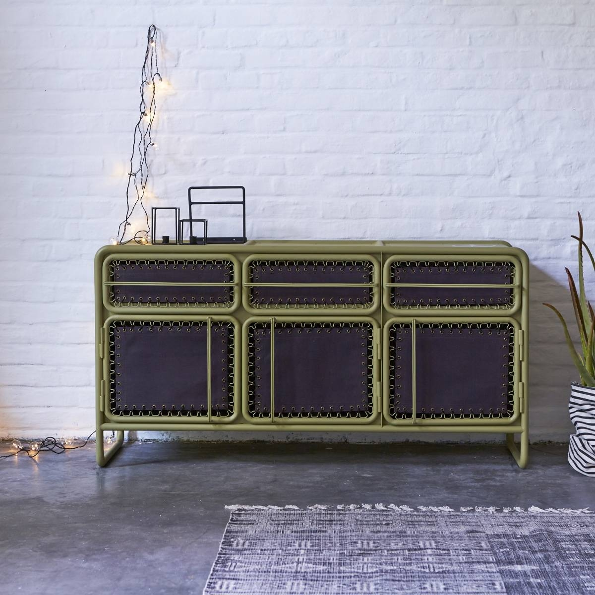 Industrial Sideboard Metal : Creates The Perfect Recipe For Inside Most Recently Released Industrial Sideboards (View 9 of 15)
