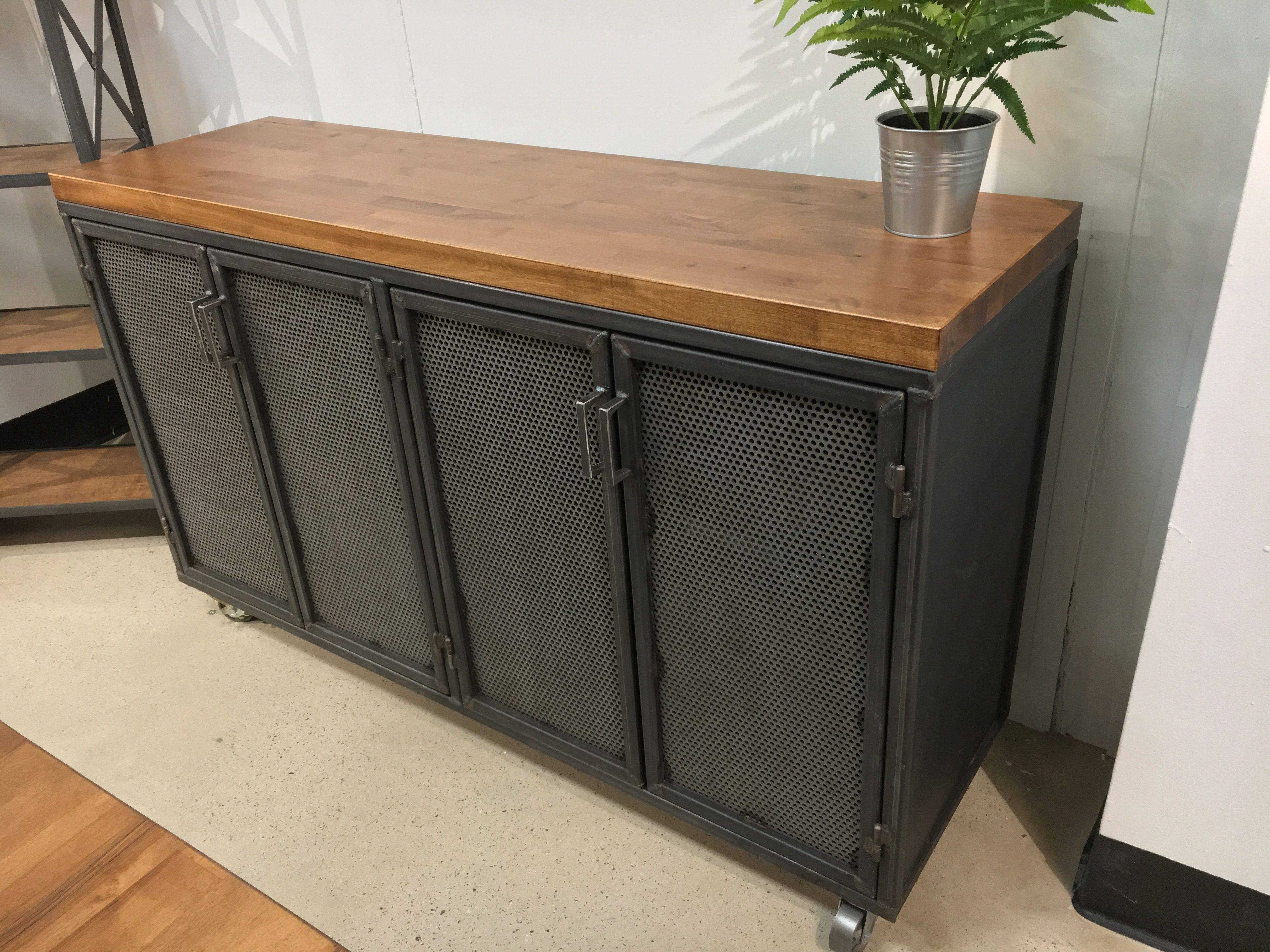 Industrial Sideboards | Industrial Credenzas | Custommade With Regard To 2018 Industrial Sideboards (#11 of 15)