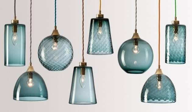 Inspiring Flodeau Handblown Sea Glass Pendant Lights Rothschild Regarding Most Up To Date Sea Glass Pendant Lights (View 4 of 15)
