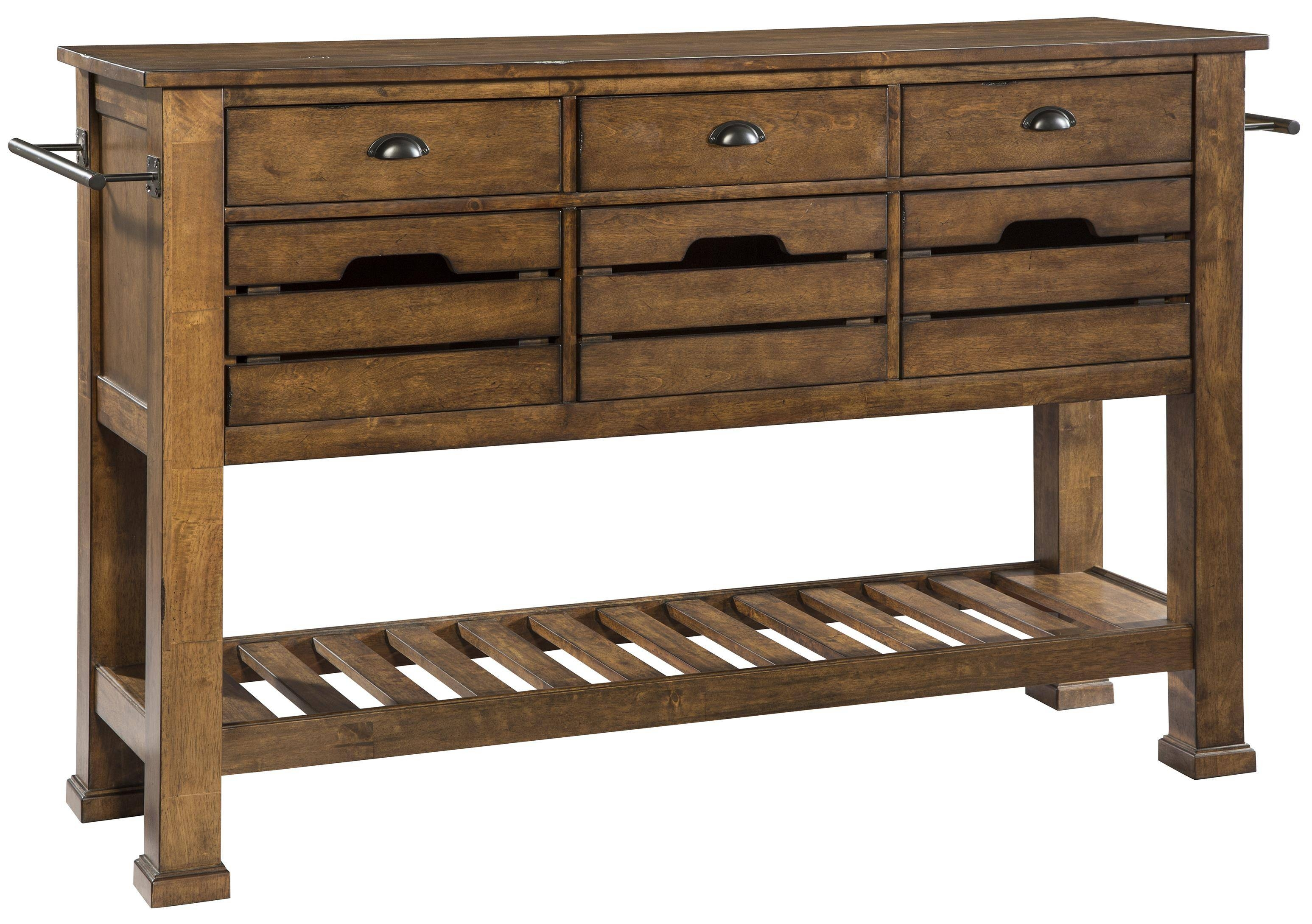 Intercon The District Sideboard With Tall Legs   Wayside Furniture With Most Current Ronan Sideboards (View 4 of 15)