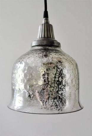 Kaplan Mercury Glass Pendant | Pottery Barn Throughout Handsome In Recent Mercury Glass Pendant Light Fixtures (#6 of 15)