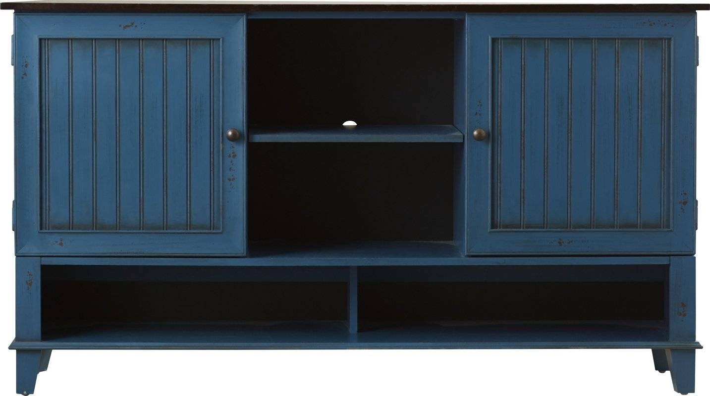 "Kathy Ireland Homemartin Furniture Eclectic Deluxe 60"" Tv Inside Newest Eclectic Sideboards (#6 of 15)"
