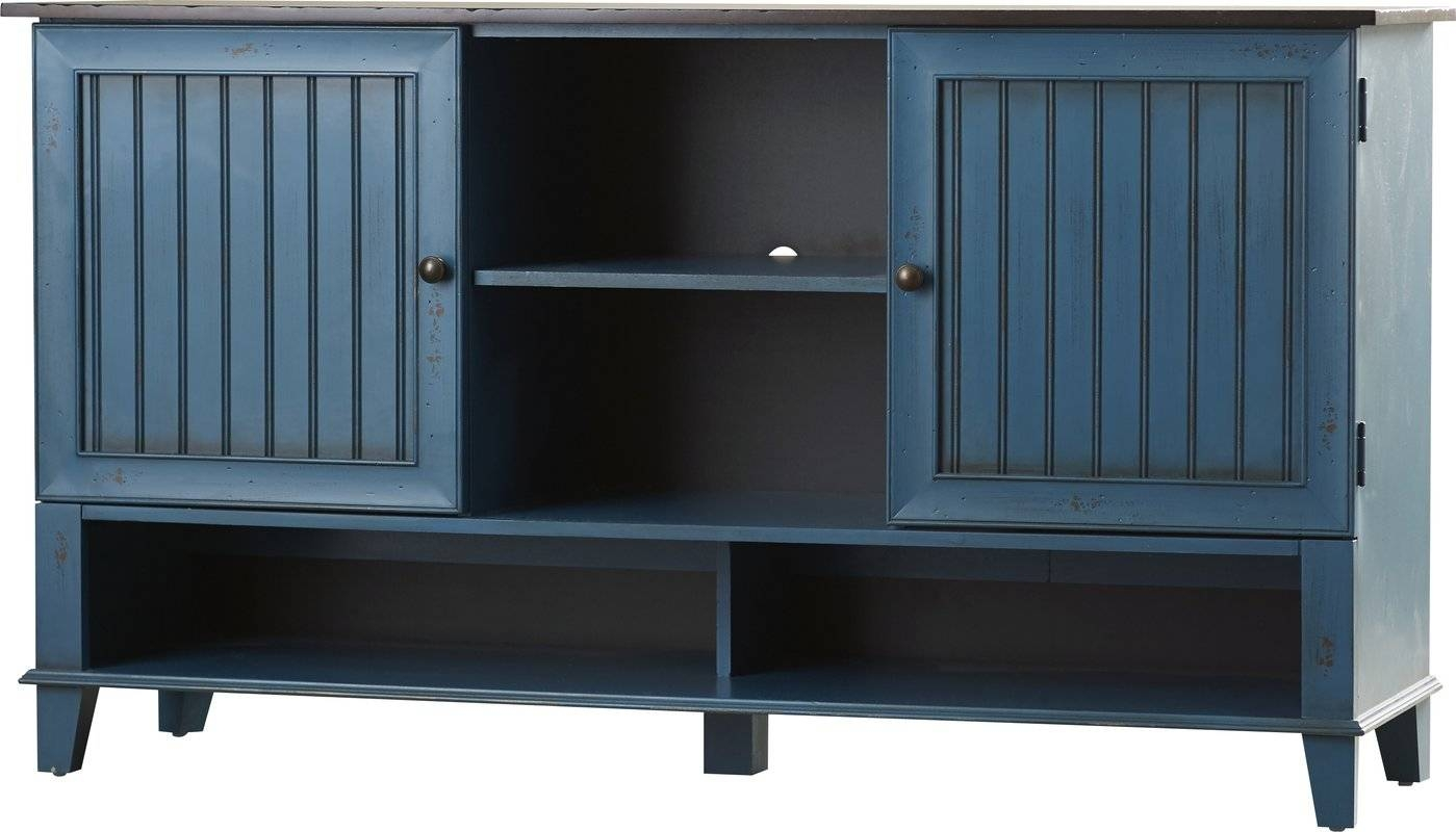 "Kathy Ireland Homemartin Furniture Eclectic Deluxe 60"" Tv With Regard To Latest Eclectic Sideboards (#7 of 15)"
