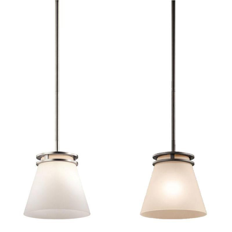 "Kichler 1687 Hendrik 8"" Wide Mini Pendant Lighting – Kic 1687 With Regard To Most Popular White Mini Pendant Lights (#5 of 15)"