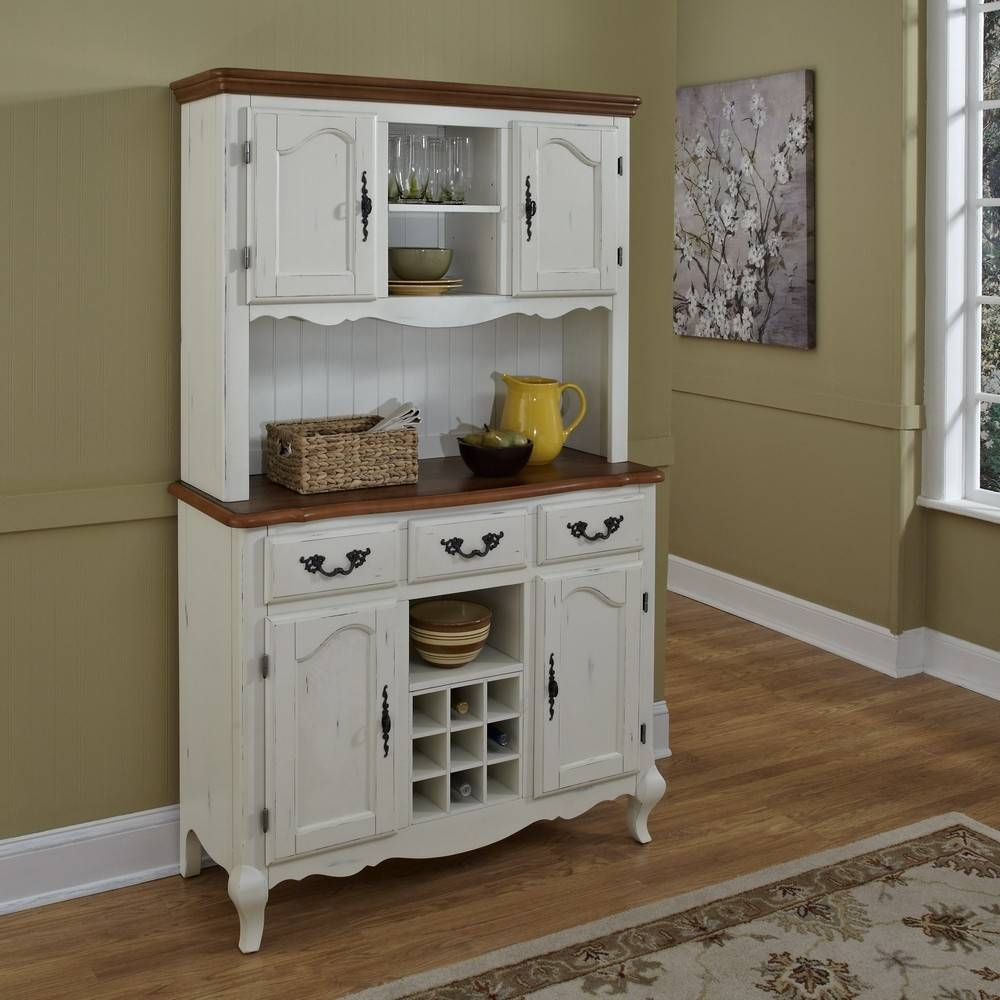 Kitchen Hutches For Sale Kitchen Hutch Ideas Two Tone Buffet Hutch Regarding Latest Country Sideboards And Hutches (View 2 of 15)