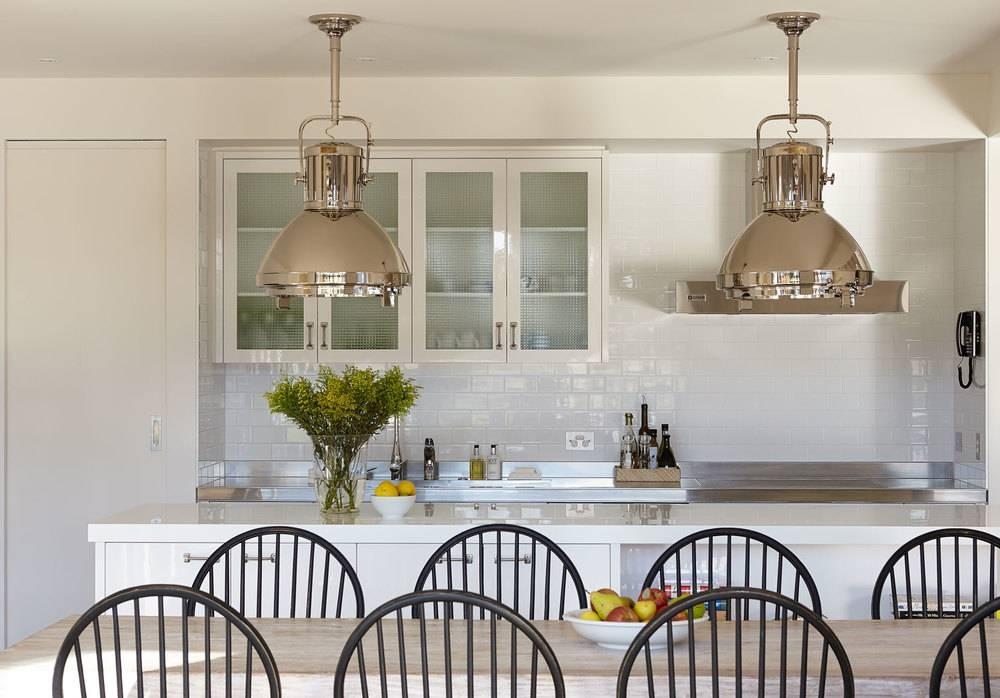 Kitchen | Interior Design | Diane Bergeron Interiors Inside Newest Beach House Pendant Lighting (#11 of 15)