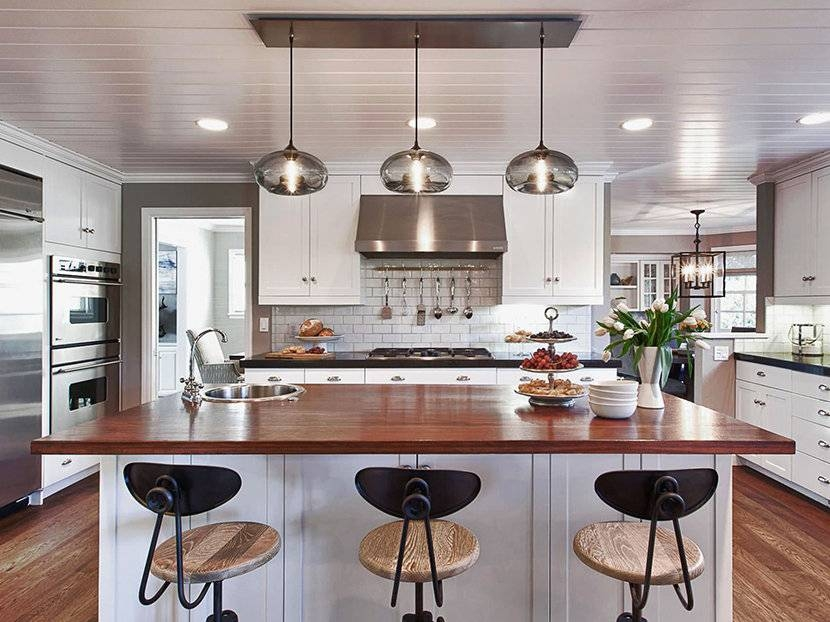 Kitchen Island Pendant Lighting Glass : Kitchen Island Pendant For Best And Newest Island Pendant Light Fixtures (View 8 of 15)