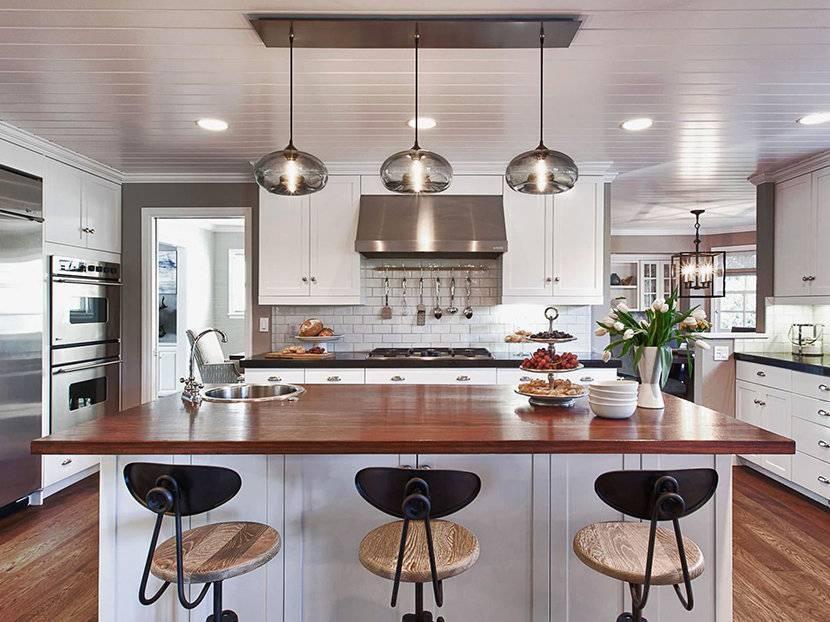 Kitchen Island Pendant Lighting Glass : Kitchen Island Pendant For Most Up To Date Pendant Lights For Kitchen (#7 of 15)