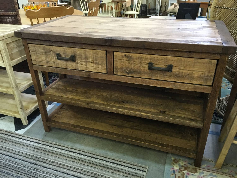 Kitchen Island Turned Leg Cabinet Buffet Sideboard Regarding Newest Rustic Sideboard Furniture (View 12 of 15)