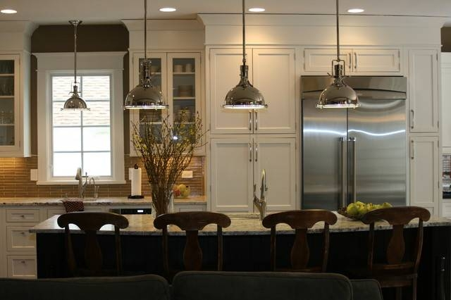 Kitchen Islands: Pendant Lights Done Right Intended For Most Up To Date Pendant Lights For Kitchen (#8 of 15)