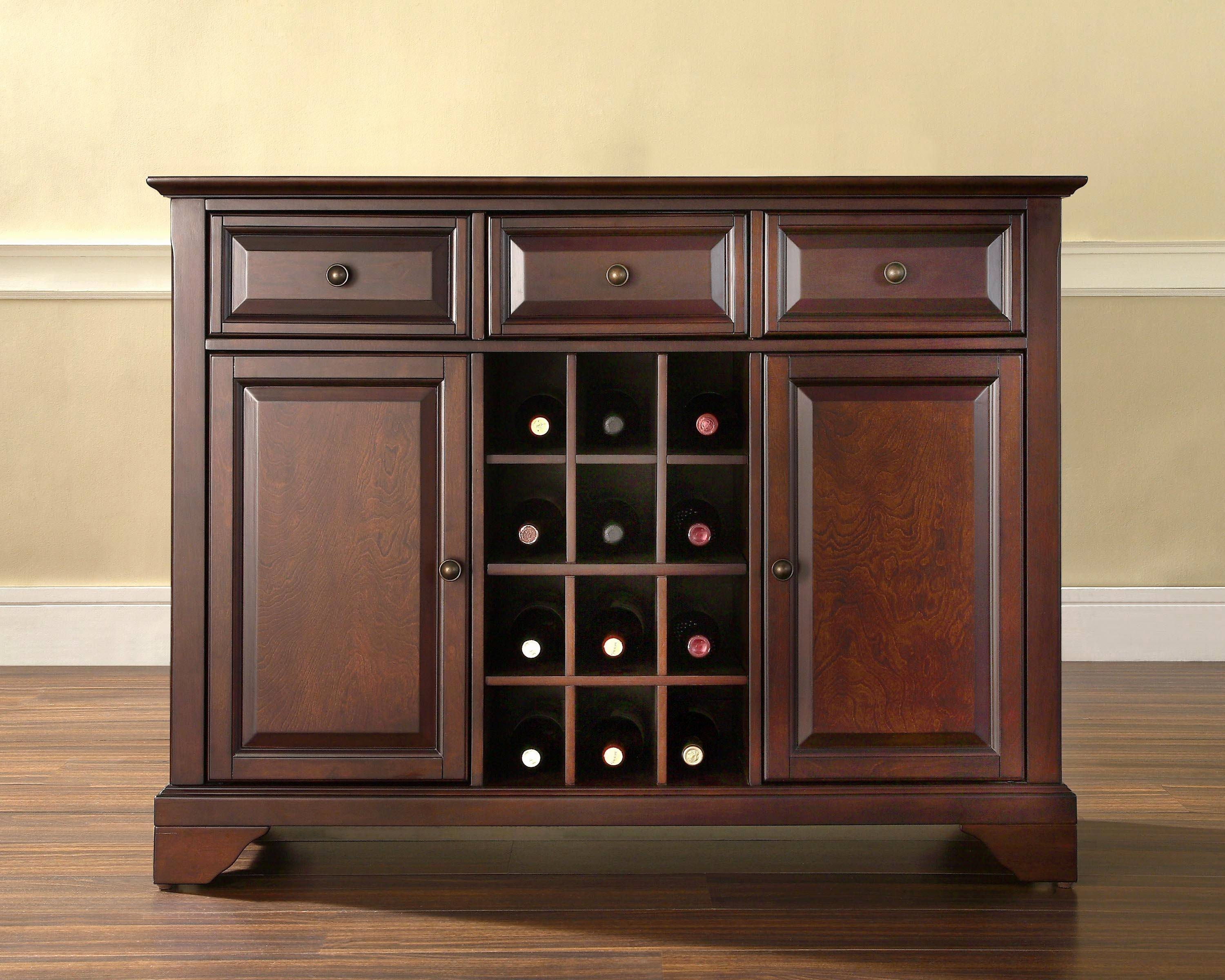 Kitchen Sideboard Ideas Fresh Dining Room Buffet Cabinet Pertaining To Best And Newest Sideboard Bar Cabinet (#7 of 15)