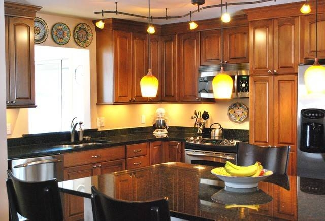 Kitchen Track Lighting, 4 Ideas | Kitchen Design Ideas Blog For Most Recent Kitchen Track Pendant Lighting (#6 of 15)