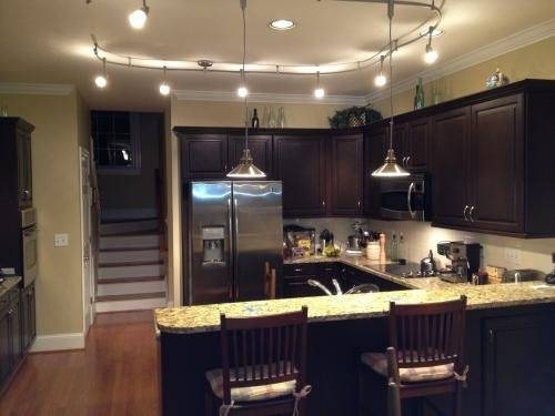 Kitchen Track Lighting Systems – Tomic Arms Inside Most Current Kitchen Track Pendant Lighting (#5 of 15)