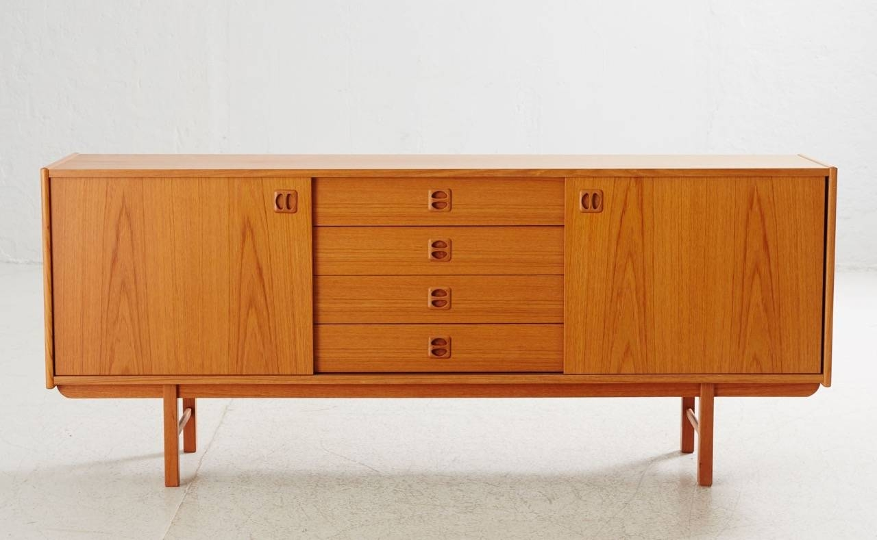 Korsör Teak Sideboard From Ikea, 1960s For Sale At Pamono With Most Popular Ikea Sideboards (View 6 of 15)