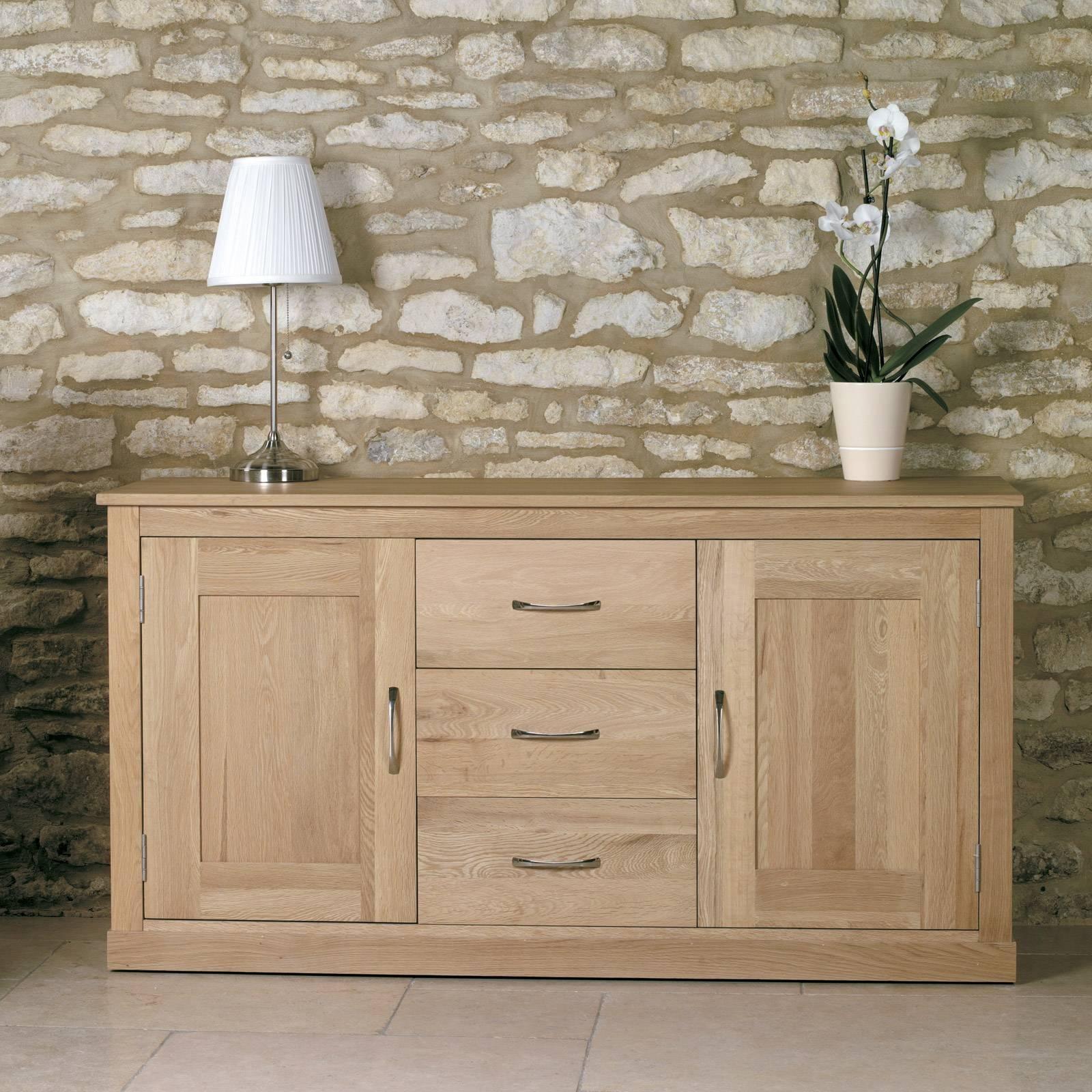 Large Oak Sideboard – Range Furniture With Regard To Most Recent Large Oak Sideboard (View 8 of 15)