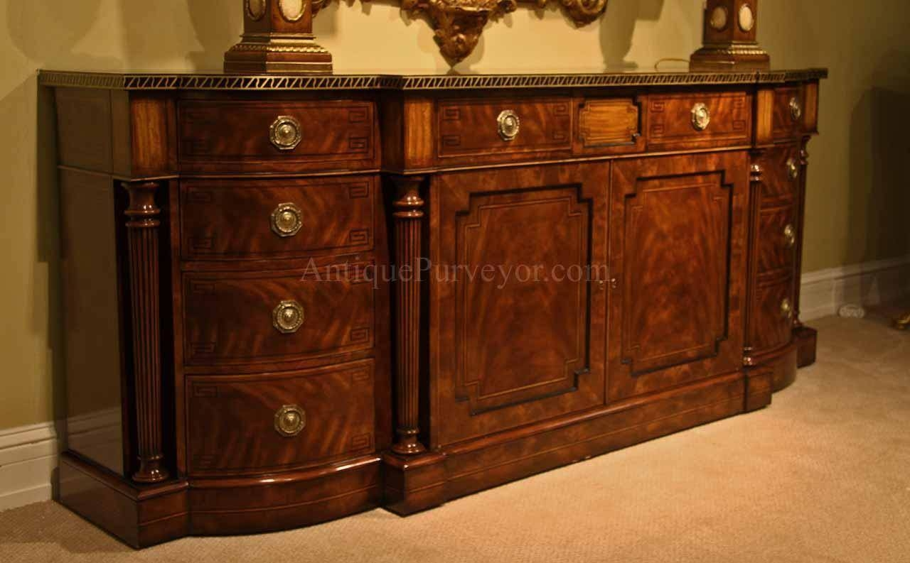 15 inspirations of antique buffet sideboards. Black Bedroom Furniture Sets. Home Design Ideas