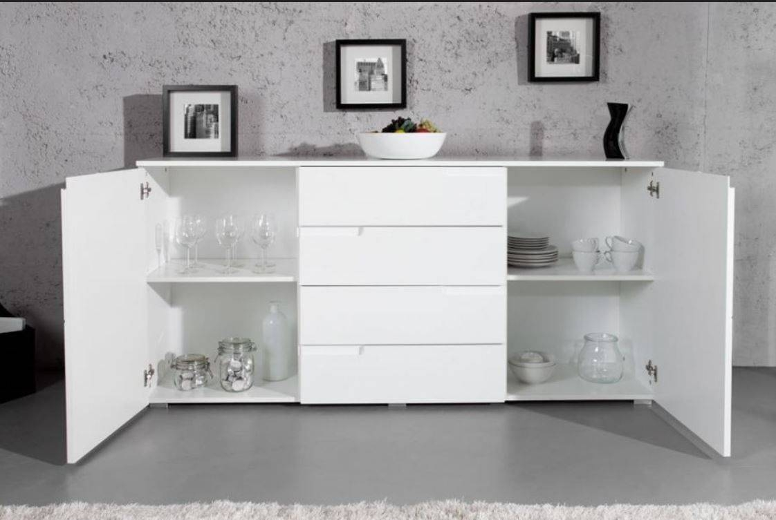 Large White Gloss Sideboardfurniturefactor.co (#4 of 15)