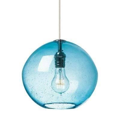 Lbl Lighting – Blue – Pendant Lights – Lighting – The Home Depot In 2018 Blue Pendant Lights (#10 of 15)