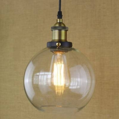 Led Mini Pendant Light With Clear Glass – Takeluckhome For Most Current Clear Glass Mini Pendant Lights (View 9 of 15)
