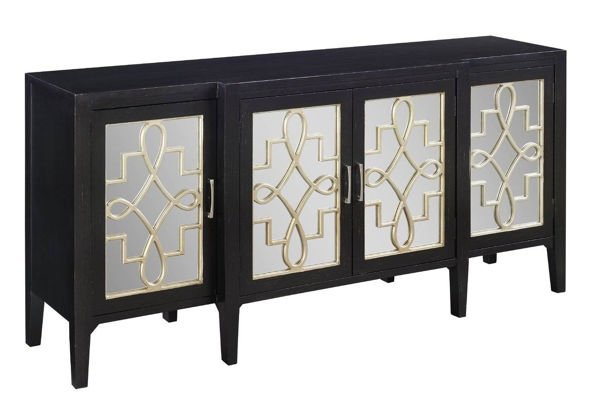 Lewis Mirrored Sideboard & Reviews | Joss & Main Regarding Most Current Sideboard Tables (View 4 of 15)