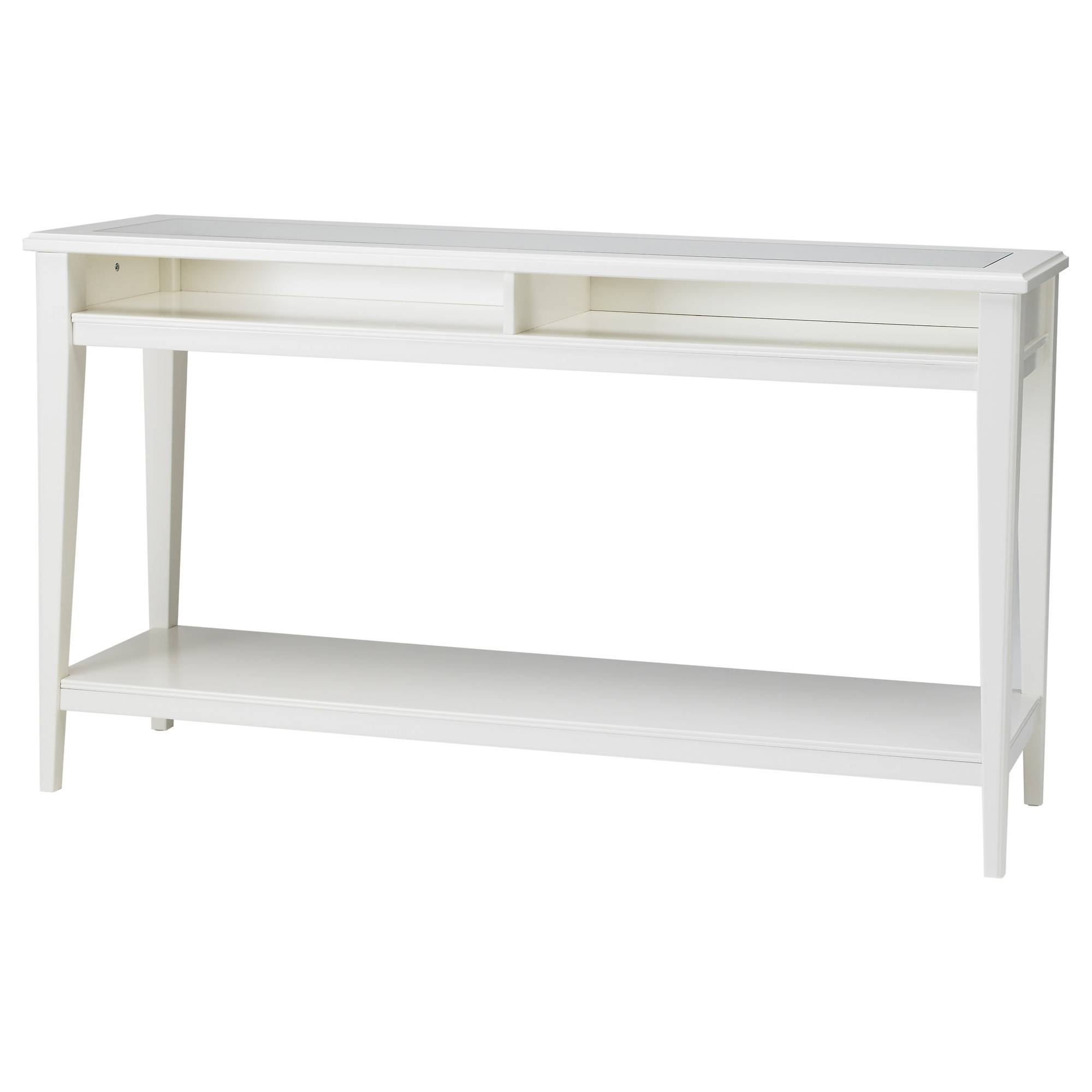 Liatorp Console Table – White/glass – Ikea Regarding Best And Newest Sideboard Tables (View 5 of 15)