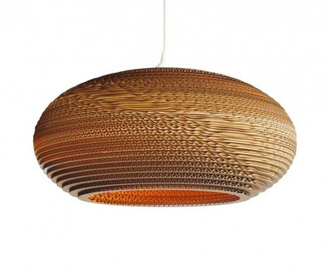 Lighting Australia | Replica Recycled Cardboard Pendant Lights Inside Current Recycled Pendant Lights (#8 of 15)