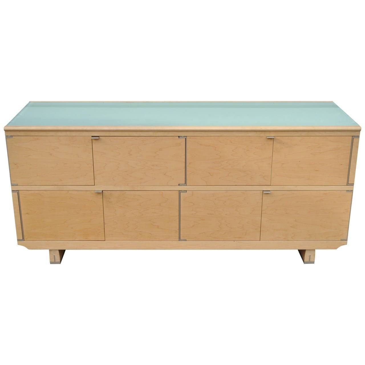 Live Edge Ambrosia Maple Sideboard, Daniel Oates, Usa At 1stdibs Regarding Most Popular Maple Sideboards (View 8 of 15)