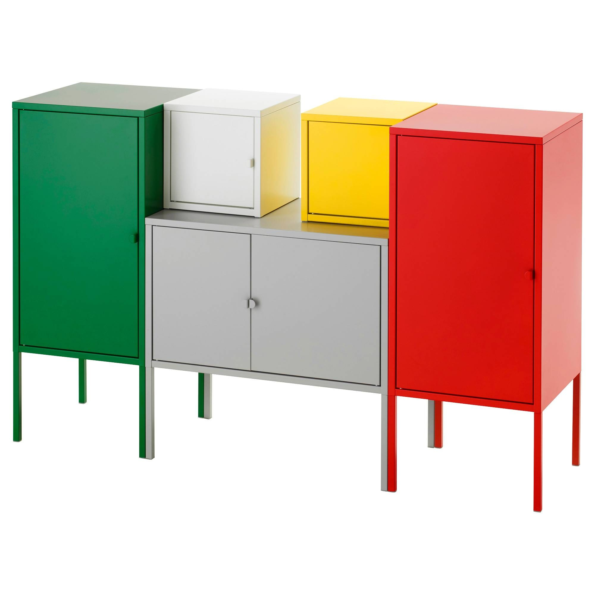Lixhult Storage Combination – Ikea Within Current Ikea Red Sideboards (#11 of 15)