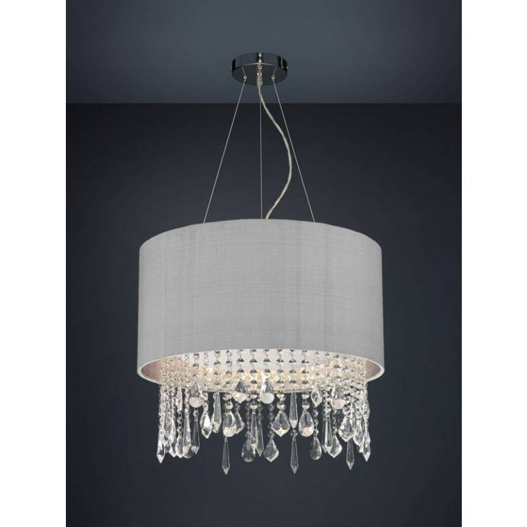 Lizard' Bespoke Beaded Pendant Shade (Various Colours) – Cotterell Within Newest Beaded Pendant Light Shades (#12 of 15)