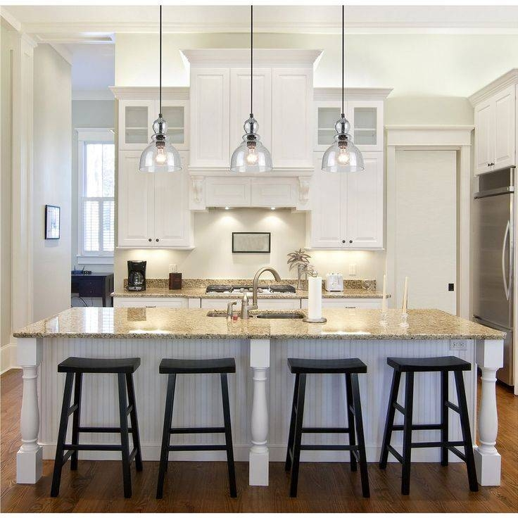 Lovable Glass Pendant Lights For Kitchen 17 Best Ideas About Glass With Most Current Glass Kitchen Pendant Lights (#8 of 15)