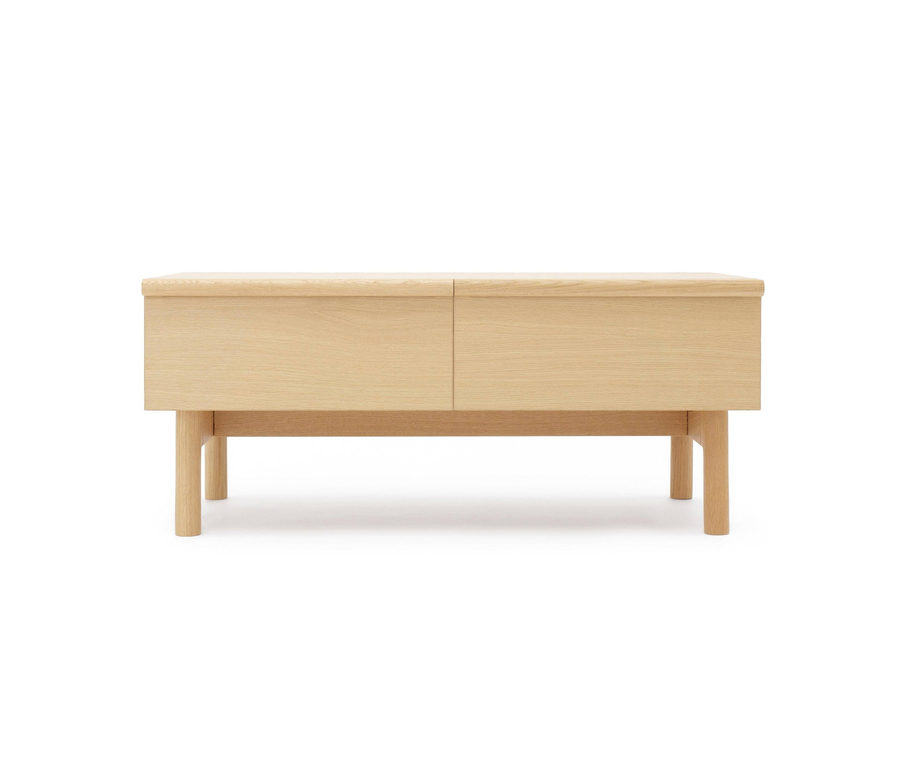 Low Sideboard With Two Drawers – Sideboards From Bautier | Architonic With Regard To Most Popular Small Low Sideboards (#11 of 15)