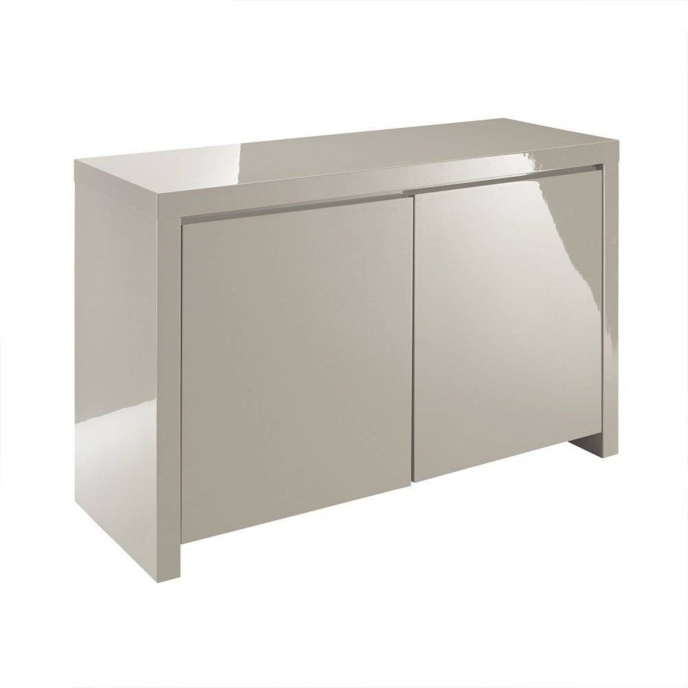 Lpd Furniture | Puro Stone High Gloss Sideboard | Leader Stores In Most Recently Released Uk Gloss Sideboards (View 2 of 15)