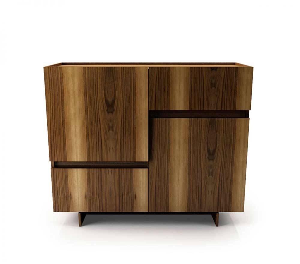 Magnolia 48Inch Buffet | Modern Buffets Stations With Regard To Current 48 Inch Sideboards (#4 of 15)