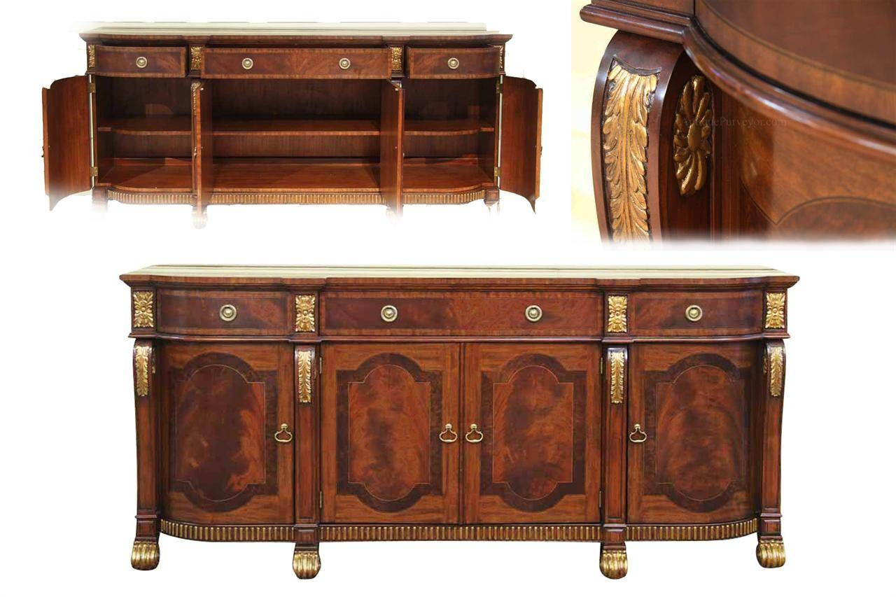 15 best collection of sideboard buffet tables for Table buffet